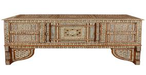 A Late 18th Century Turkish Mosaic Wedding Trunk
